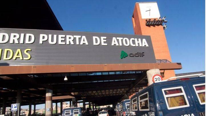 Estación de Adif en Atocha.