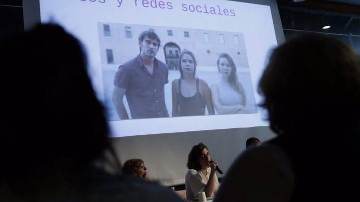 Celia Mayer presenta la campaña 'Fiestas libres de violencias machistas'