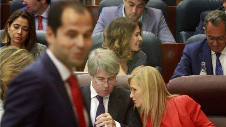 Réplica de Ignacio Aguado a Cristina Cifuentes en el último debate del estado de la región. (Archivo)