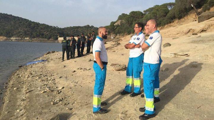 Servicios de Emergencias en el Pantano de San Juan.