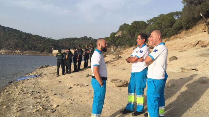 Los servicios de emergencias en el Pantano de San Juan