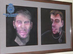 Recuperados tres de los cinco cuadros de Francis Bacon robados en 2015