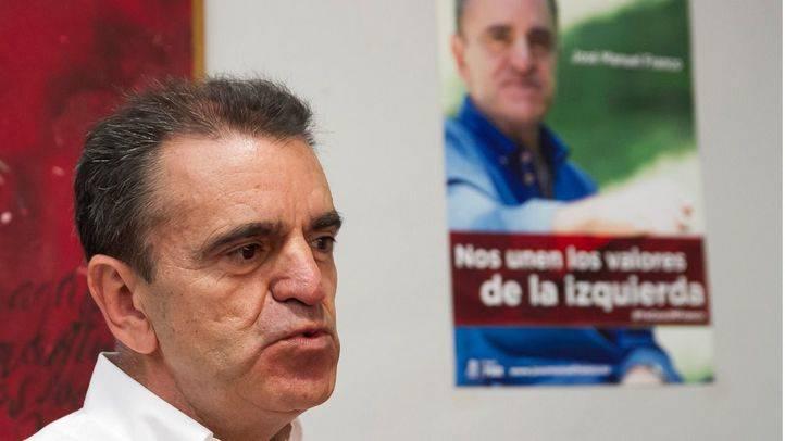 José Manuel Franco ha presentado su candidatura en la agrupación de Chamartín.