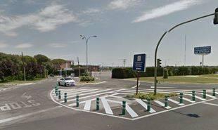 Interseccion de la Universidad Francisco de Vitoria, Urb. Monteclaro y la M-515.