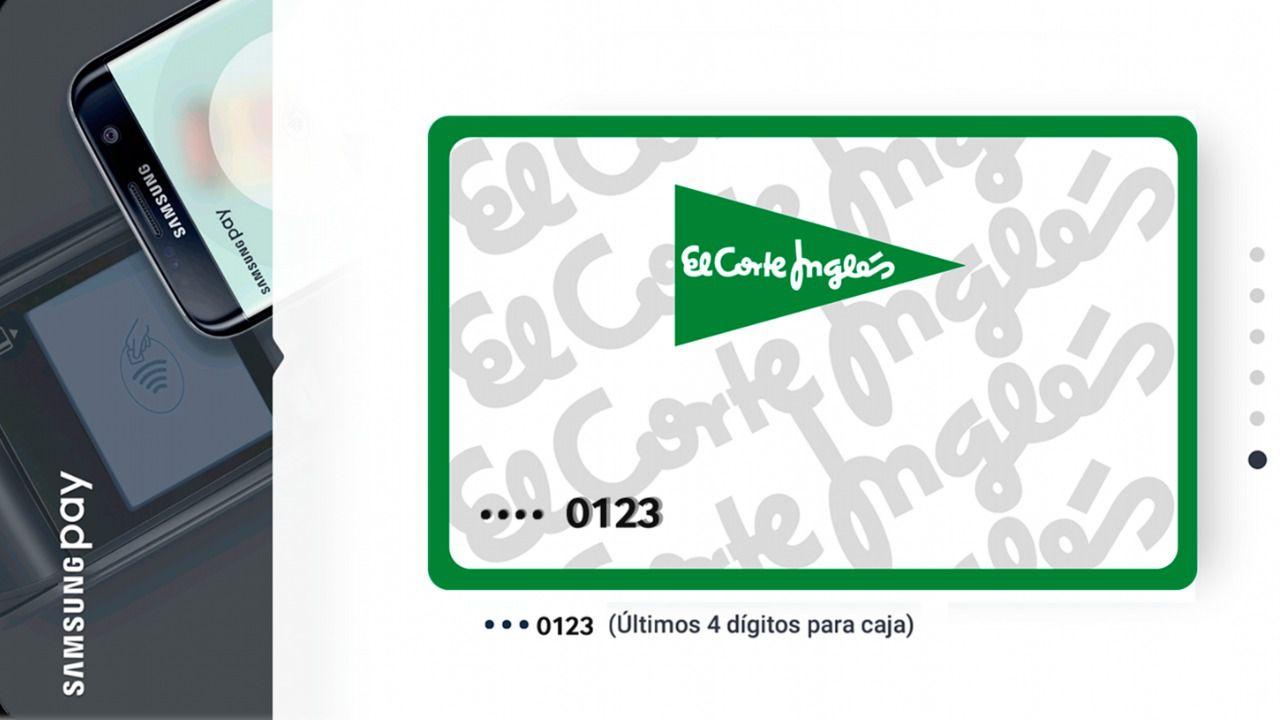 La tarjeta de el corte ingl s se suma al pago por m vil de - El corte ingles papel pintado ...