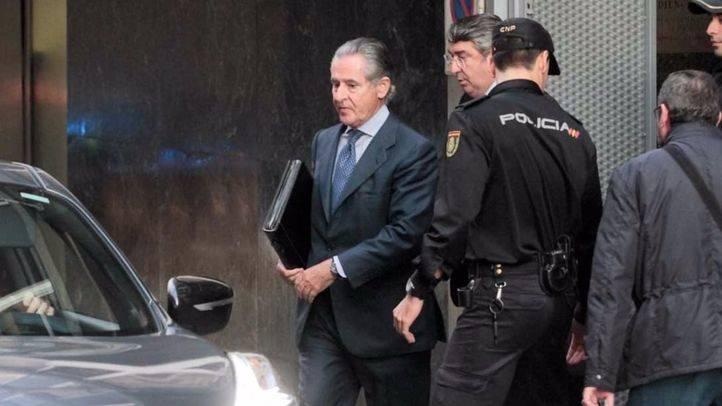 Miguel Blesa saliendo de la Audiencia Nacional. (Archivo)