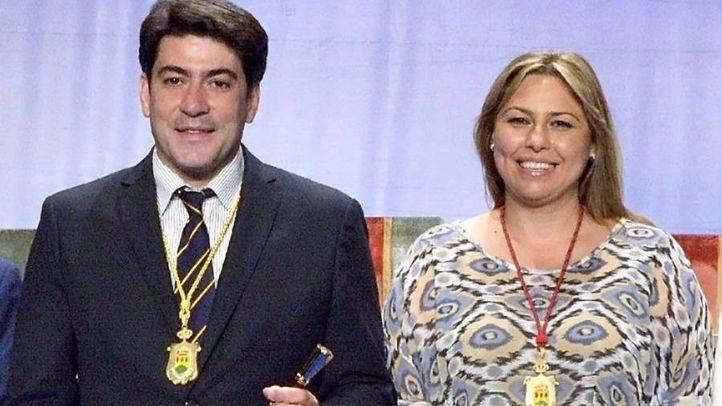 David Pérez y Silvia Cruz