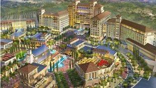 Recreación del complejo Live! Resorts Madrid de Cordish en Torres de la Alameda.