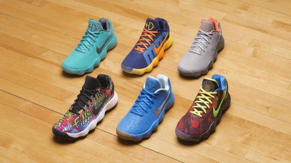 Los seis nuevos modelos de zapatillas Nike Hyperdunk, homenaje a las seis capitales del baloncesto