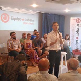 Lobato presenta la candidatura