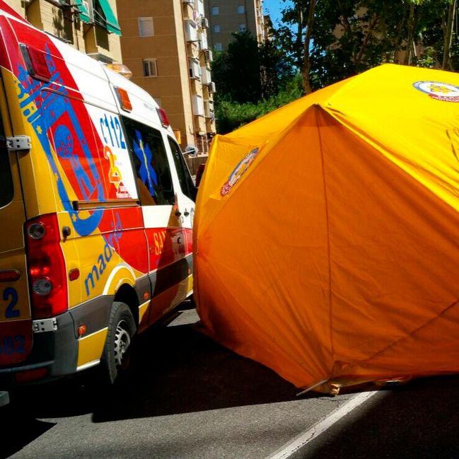 Muere un anciano tras ser atropellado en San Blas