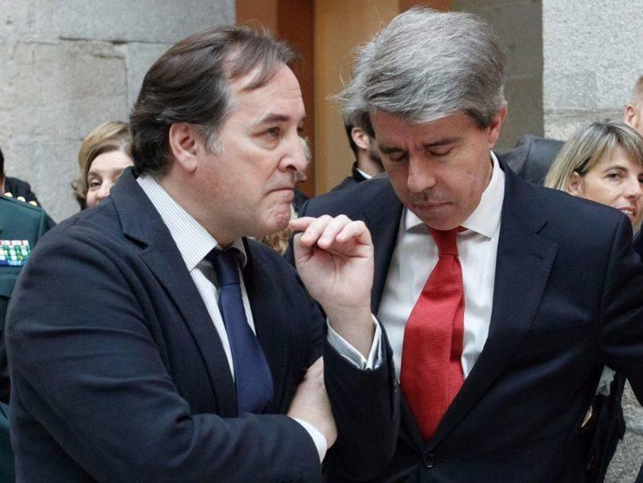 Ángel Garrido y Jaime González Taboada (archivo).