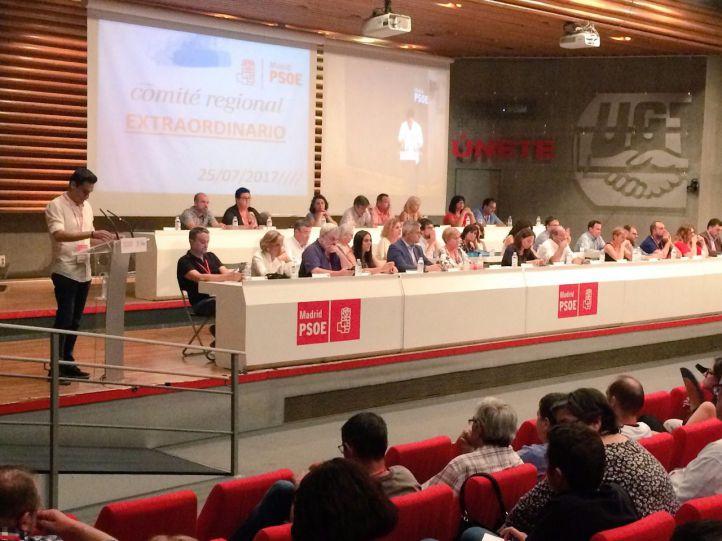 Aprobado el calendario de las primarias del PSOE-M: el 30 de septiembre, la primera vuelta