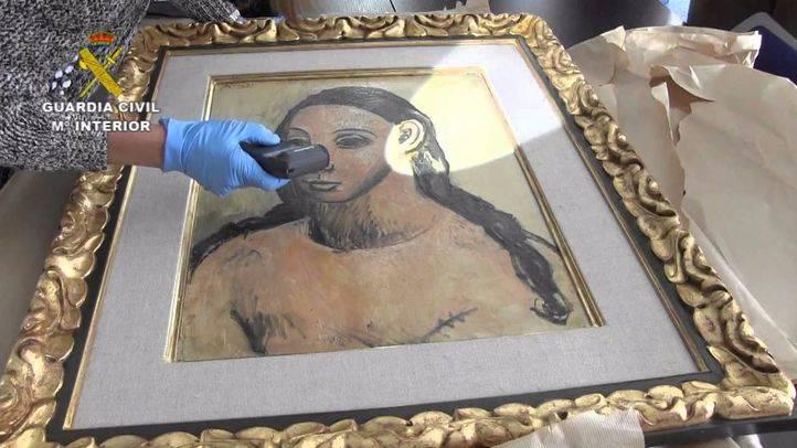 Traslado a España del Picasso 'Cabeza de Mujer Joven'