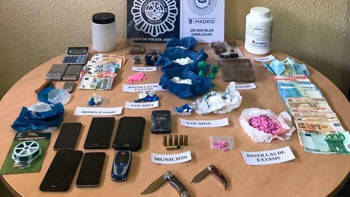 Un epicentro de la droga en Canillejas