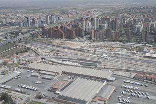 Foto de archivo de los terrenos de la 'Operación Chamartín'