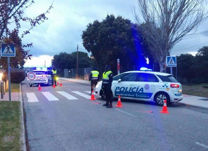 Detenidos en Boadilla tres hombres que robaban piezas de coches de lujo