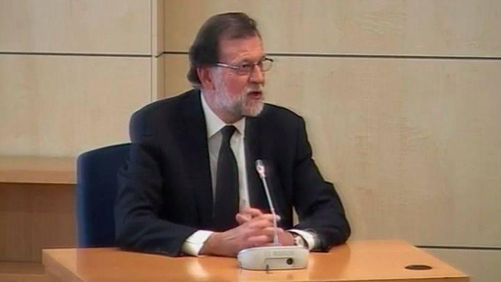 Mariano Rajoy declara como testigo en el juicio por la primera época de la trama Gürtel.