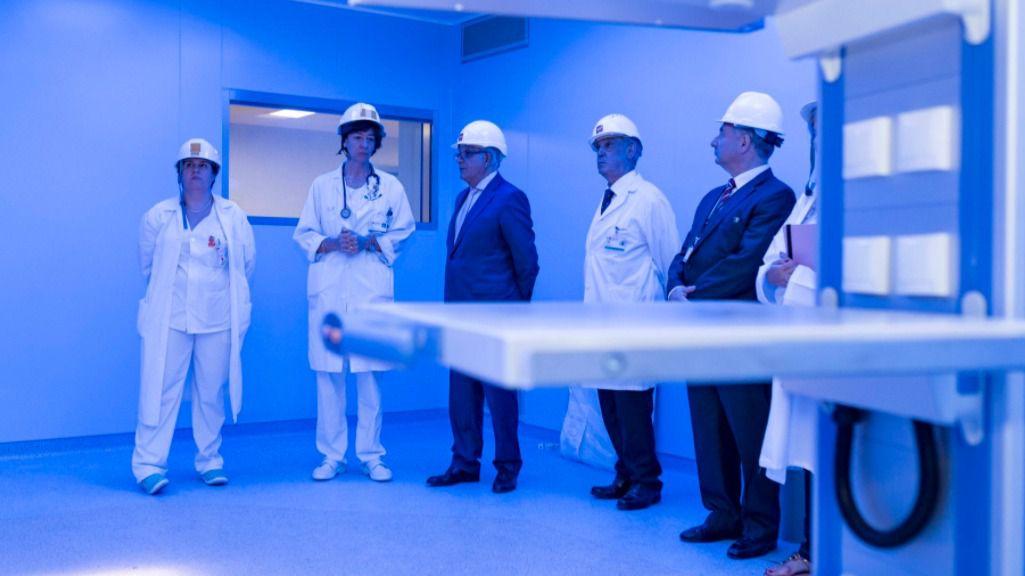 Visita de las nuevas instalaciones del hospital.