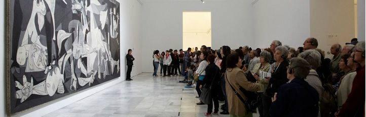 Exposición 'Piedad y terror en Picasso: el camino a Guernica', concebida de forma específica para celebrar el 80 aniversario de la creación del cuadro.