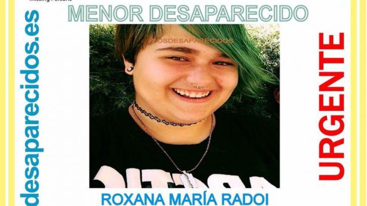 Cartel que busca a la menor desaparecida en Rodrigo de Chavela.