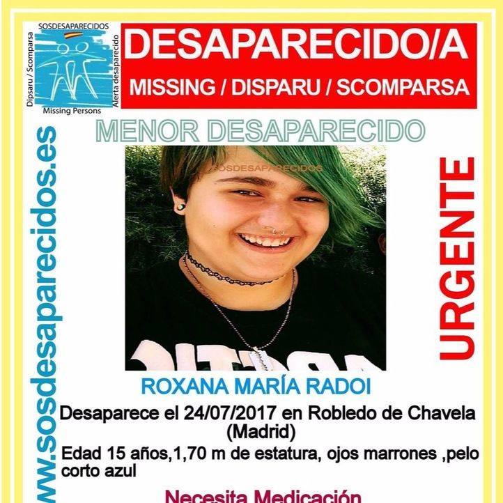 Desaparecida una joven de 15 años en Robledo de Chavela