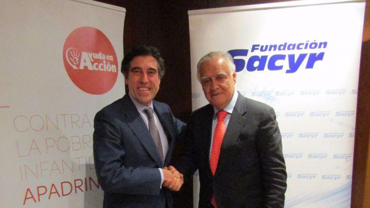 La Fundación Sacryr firma un acuerdo de colaboración con Ayuda en Acción