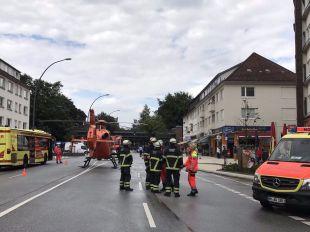 Un muerto y varios heridos por un ataque con cuchillo en un supermercado de Hamburgo