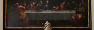 Descubierto un cuadro de Juan de Alfaro en la Iglesia de las Góngoras