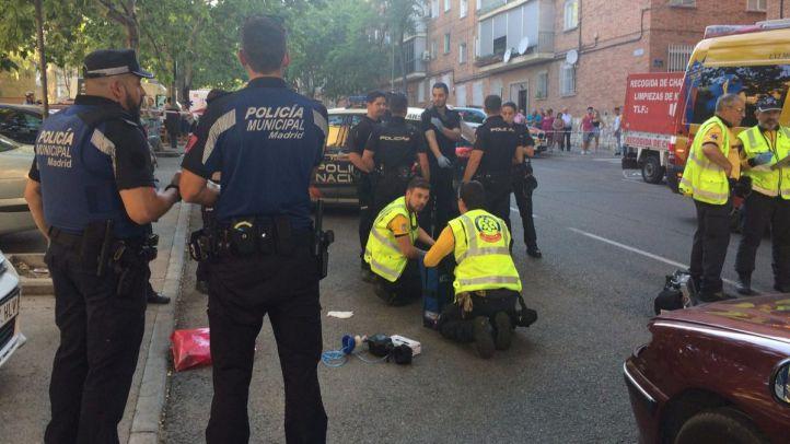 Muere una mujer de 57 años al ser atropellada por un coche en San Blas