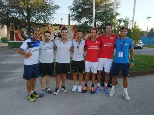 El equipo masculino de la Universidad Camilo José Cela