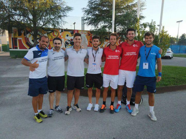 Termina el Campeonato de Europa Universitario de Tenis que acoge la Camilo José Cela