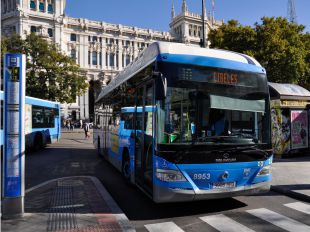 El uso del transporte público aumentó un 4,33% en el año 2016