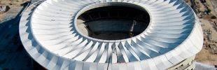 El Wanda Metropolitano aprieta el paso: así se ha terminado la cubierta del estadio