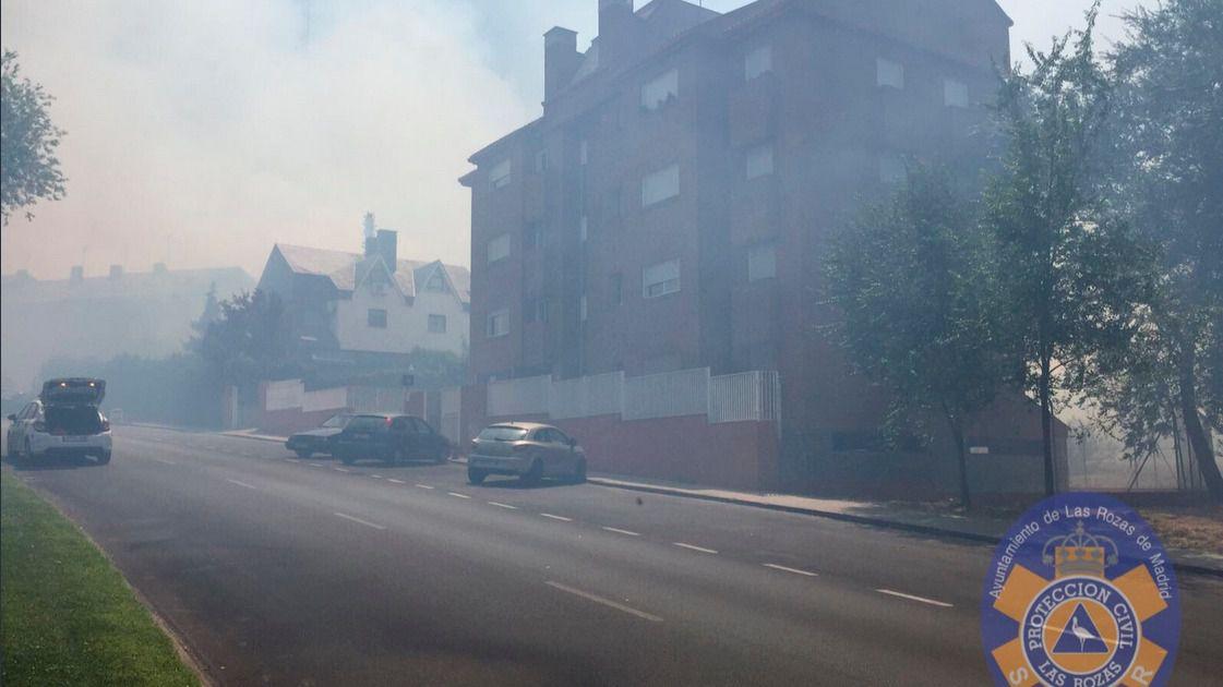 El incendio de las rozas deja seis viviendas afectadas y for Mudanzas en las rozas