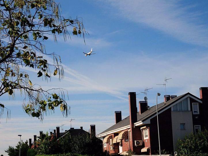 Aviones, los 'vecinos' más ruidosos de San Fernando de Henares