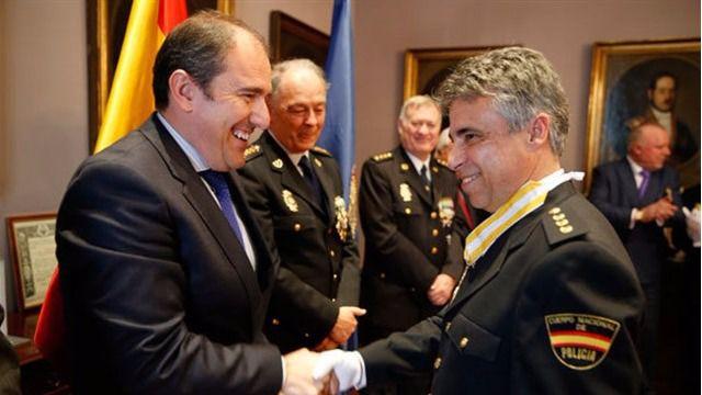 Interior nombra al comisario de Barajas Fernando Moré nuevo jefe de la UDEF