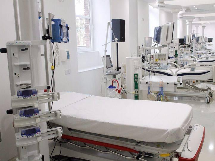 Foto de archivo de Unidad de Cuidados Intensivos (UCI) del hospital universitario infantil Niño Jesús.