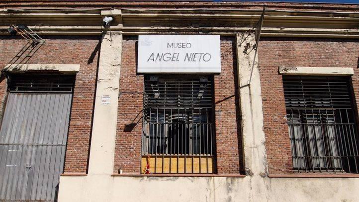 La fachada del museo de Ángel Nieto