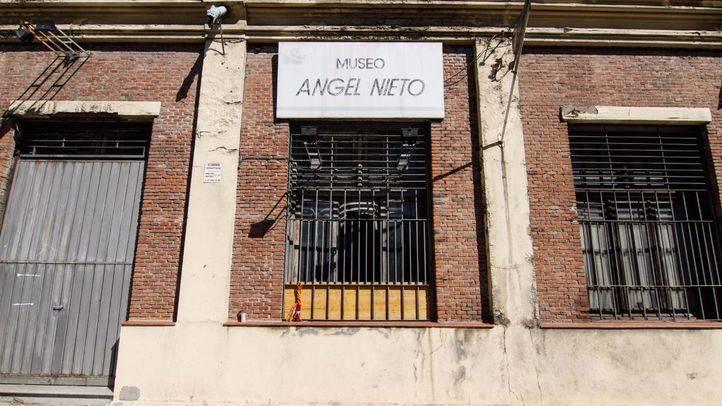 La fachada del museo de Ángel Nieto, cuatro años después del cierre