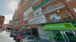 Calle Matadero de Alcorcón, donde han encontrado a la mujer asesinada.