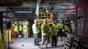 La L5 de Metro ya tiene terminado el 64% de las obras