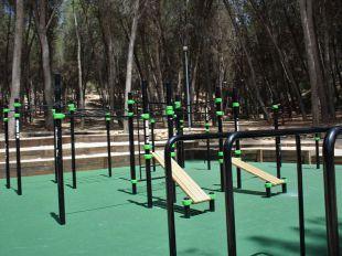 El parque de calistenia de Morata de Tajuña