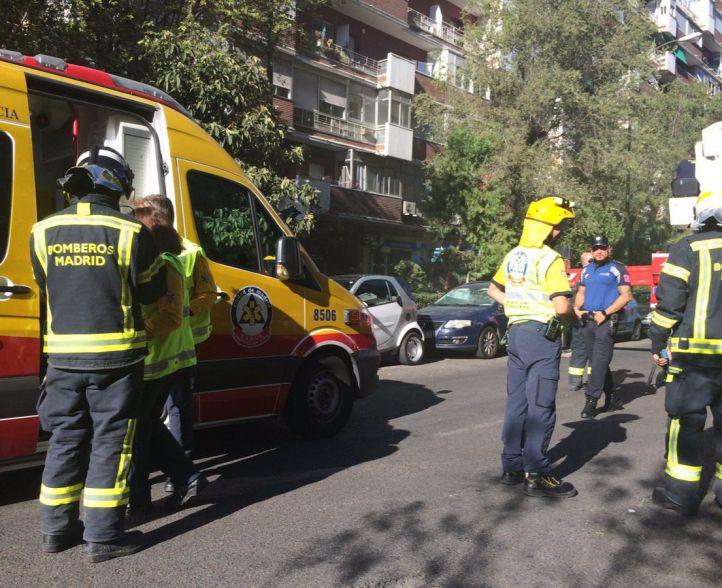 Arde la cocina de un vecino en Ciudad Lineal