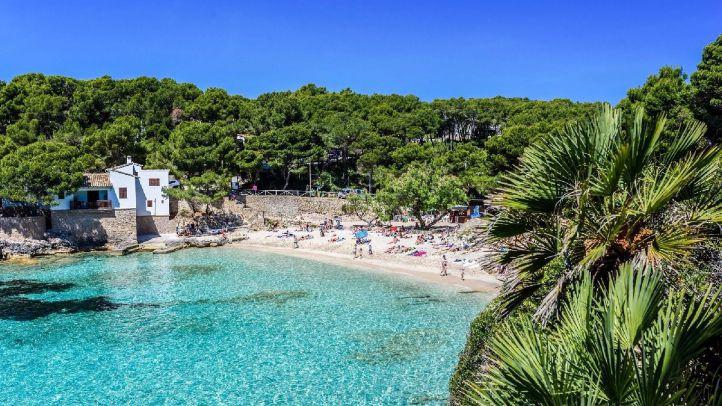Vista de una de las calas de Mallorca