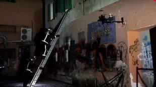 Los bomberos han sofocado el incendio en una casa abandonada de Guadarrama sin que se hayan producido heridos.