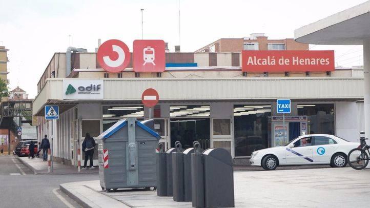 Estación de Renfe de Alcalá de Henares.