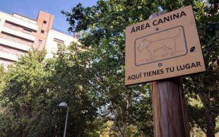 Una veintena de nuevas áreas caninas para 14 distritos