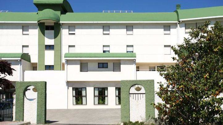 Entrada de la Residencia de Mayores de Alcorcón.