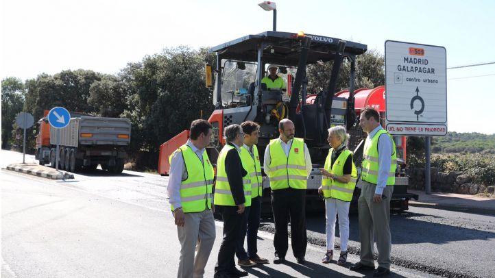 La Comunidad invierte 2,8 millones en mejorar el firme de la M-505 entre Las Rozas y Galapagar